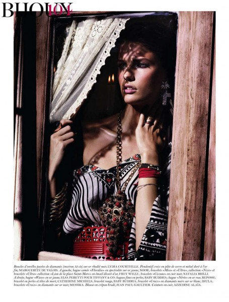 Kendra Spears by Giampaolo Sgura for <em>Vogue Paris</em> February 2012
