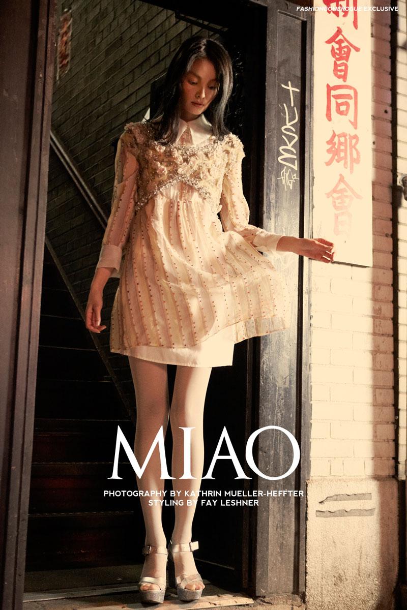 Miao Bin Si by Kathrin Mueller-Heffter for Fashion Gone Rogue