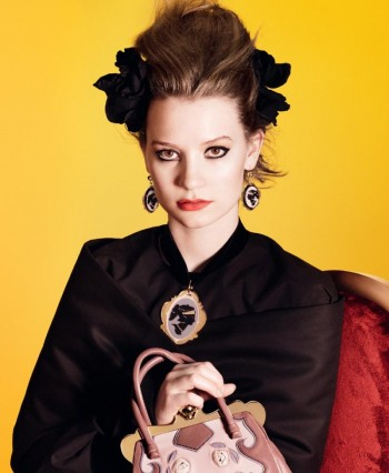 Mia Wasikowska for Miu Miu Spring 2012 Campaign by David Sims