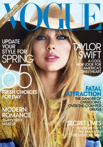 Taylor Swift by Mario Testino for <em>Vogue US</em> February 2012