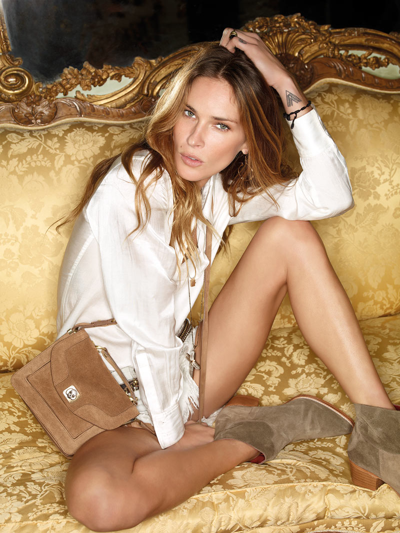 Erin Wasson for Zadig & Voltaire Spring 2012 Campaign by Fred Meylan