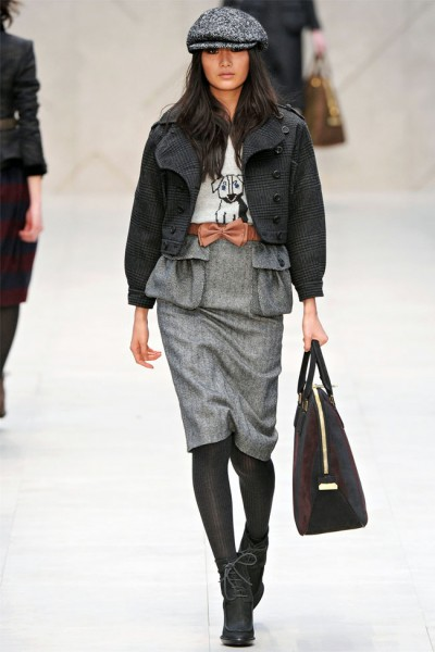 burberry12 400x600 Burberry Fall 2012 | London Fashion Week