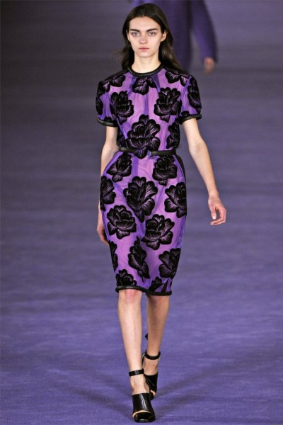 christopher kane17 400x600 Christopher Kane Fall 2012 | London Fashion Week