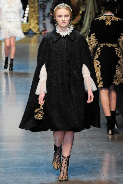 dolce gabbana16 400x600 Dolce & Gabbana Fall 2012 | Milan Fashion Week