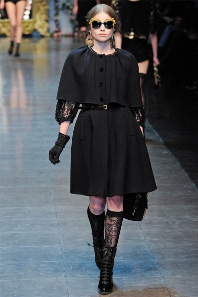 dolce gabbana52 400x600 Dolce & Gabbana Fall 2012 | Milan Fashion Week