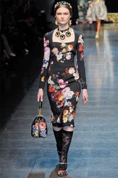 dolce gabbana69 400x600 Dolce & Gabbana Fall 2012 | Milan Fashion Week