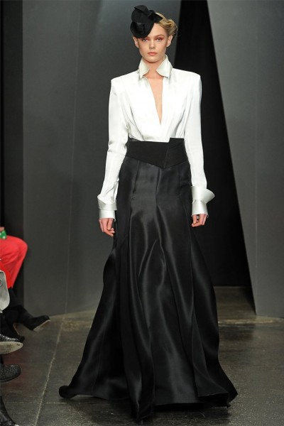 donna karan33 400x600 Donna Karan Fall 2012 | New York Fashion Week