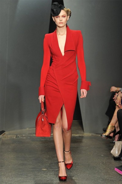 donna karan8 400x600 Donna Karan Fall 2012 | New York Fashion Week