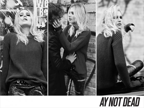 Dree Hemingway for AY Not Dead Fall 2012 by Sebastian Faena