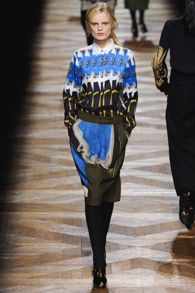 dries van noten10 400x600 Dries Van Noten Fall 2012 | Paris Fashion Week