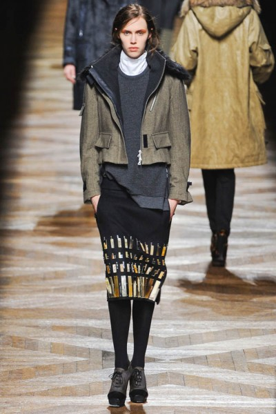 dries van noten16 400x600 Dries Van Noten Fall 2012 | Paris Fashion Week