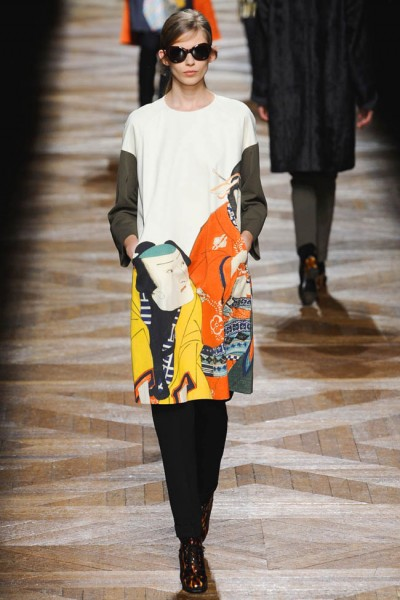 dries van noten19 400x600 Dries Van Noten Fall 2012 | Paris Fashion Week