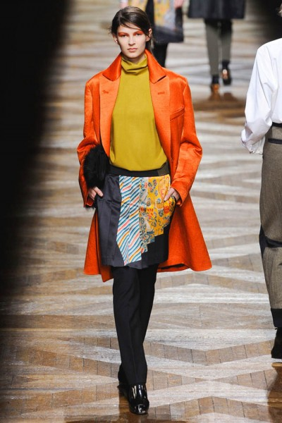 dries van noten20 400x600 Dries Van Noten Fall 2012 | Paris Fashion Week