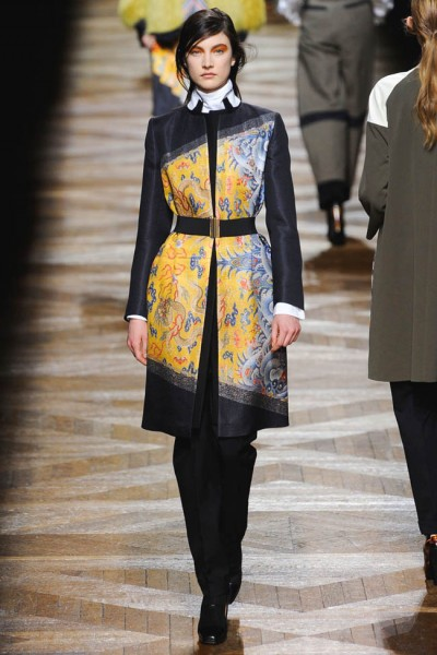 dries van noten21 400x600 Dries Van Noten Fall 2012 | Paris Fashion Week