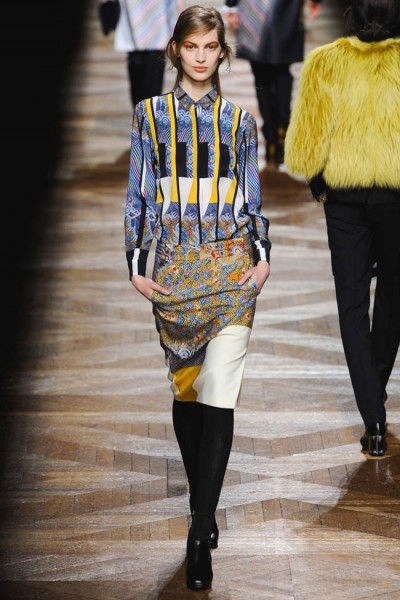 dries van noten24 400x600 Dries Van Noten Fall 2012 | Paris Fashion Week