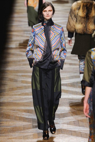 dries van noten29 400x600 Dries Van Noten Fall 2012 | Paris Fashion Week