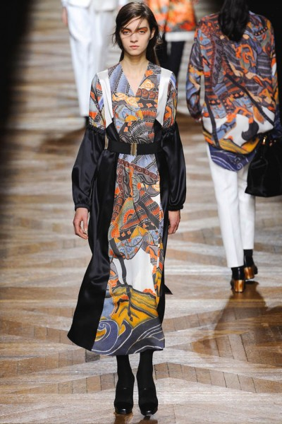 dries van noten37 400x600 Dries Van Noten Fall 2012 | Paris Fashion Week