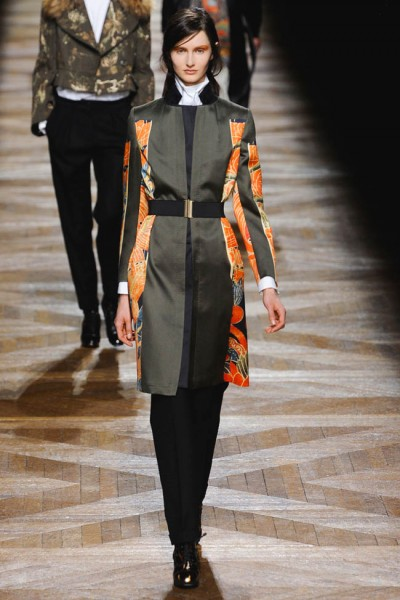 dries van noten39 400x600 Dries Van Noten Fall 2012 | Paris Fashion Week