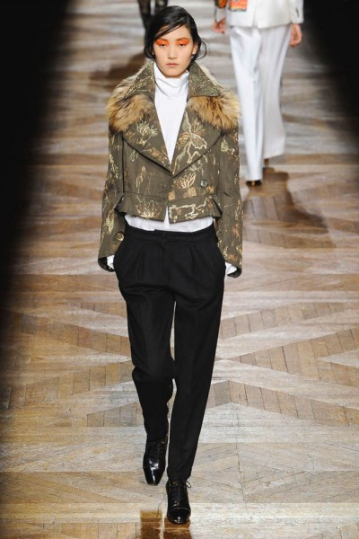dries van noten40 400x600 Dries Van Noten Fall 2012 | Paris Fashion Week