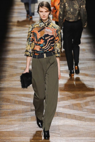 dries van noten42 400x600 Dries Van Noten Fall 2012 | Paris Fashion Week