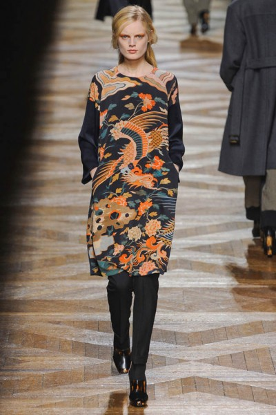 dries van noten45 400x600 Dries Van Noten Fall 2012 | Paris Fashion Week