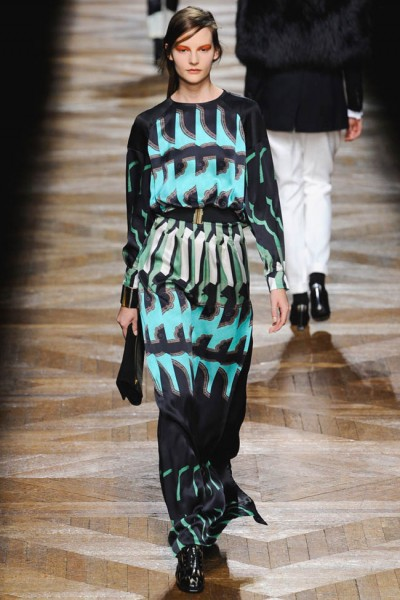 dries van noten51 400x600 Dries Van Noten Fall 2012 | Paris Fashion Week