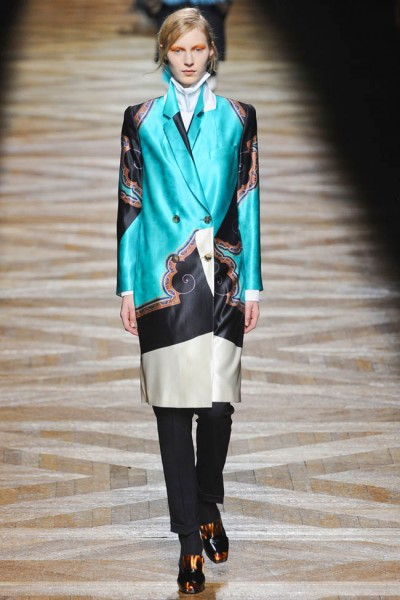 dries van noten54 400x600 Dries Van Noten Fall 2012 | Paris Fashion Week