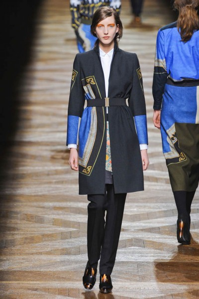 dries van noten9 400x600 Dries Van Noten Fall 2012 | Paris Fashion Week
