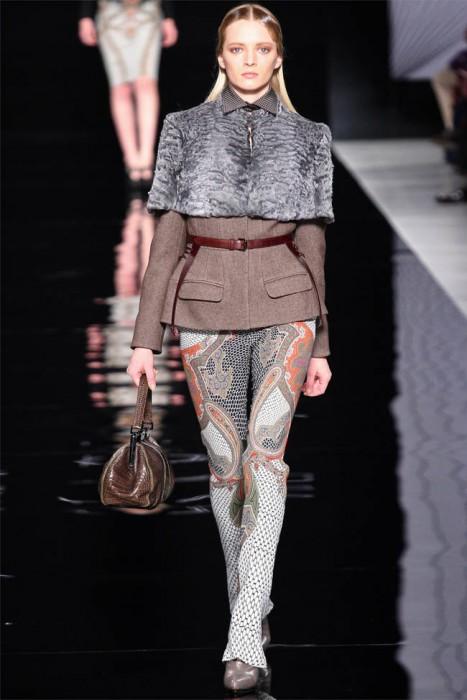 Etro Fall 2012   Milan Fashion Week