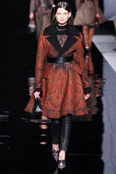 etro7 400x600 Etro Fall 2012 | Milan Fashion Week