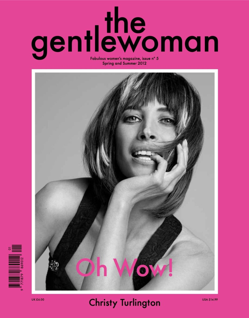 The Gentlewoman S/S 2012 Cover | Christy Turlington by Inez & Vinoodh