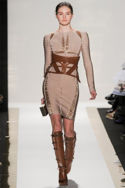 herve leger10 400x600 Herve Leger by Max Azria Fall 2012 | New York Fashion Week