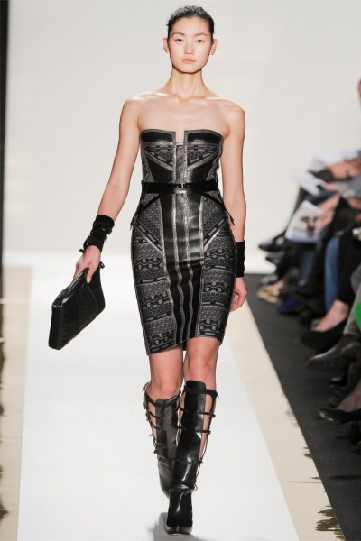 herve leger16 400x600 Herve Leger by Max Azria Fall 2012 | New York Fashion Week