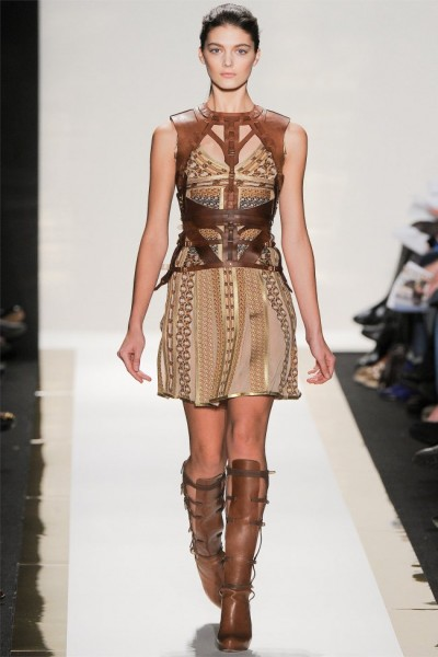 herve leger17 400x600 Herve Leger by Max Azria Fall 2012 | New York Fashion Week