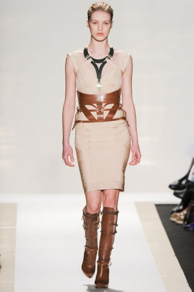 herve leger18 400x600 Herve Leger by Max Azria Fall 2012 | New York Fashion Week