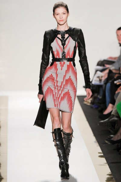 herve leger21 400x600 Herve Leger by Max Azria Fall 2012 | New York Fashion Week