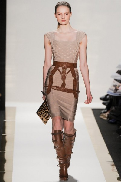 herve leger6 400x600 Herve Leger by Max Azria Fall 2012 | New York Fashion Week