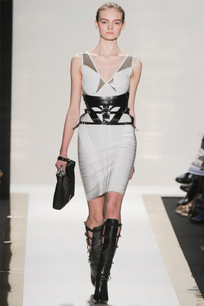 herve leger9 400x600 Herve Leger by Max Azria Fall 2012 | New York Fashion Week