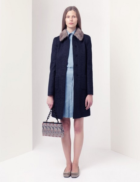 jil sander10 461x600 Jil Sander Navy Fall 2012 Collection