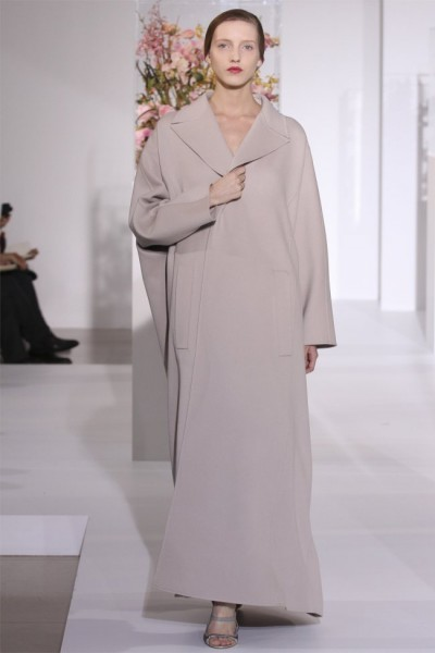jil sander161 400x600 Jil Sander Fall 2012 | Milan Fashion Week