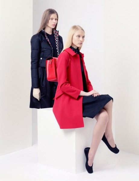 jil sander2 461x600 Jil Sander Navy Fall 2012 Collection