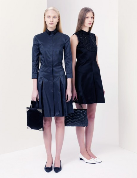 jil sander21 461x600 Jil Sander Navy Fall 2012 Collection