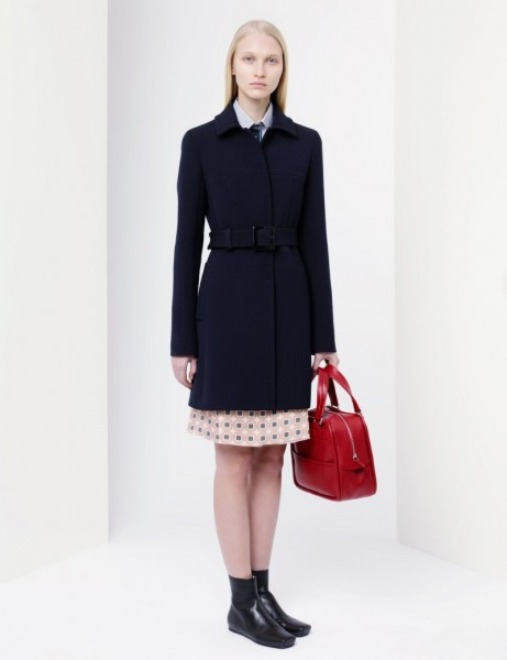 jil sander8 461x600 Jil Sander Navy Fall 2012 Collection