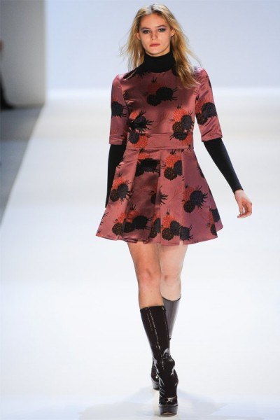 jill stuart16 400x600 Jill Stuart Fall 2012 | New York Fashion Week