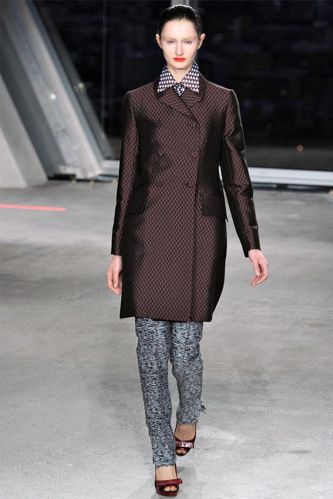 Jonathan Saunders Fall 2012 | London Fashion Week