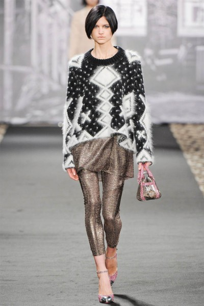 just cavalli18 400x600 Just Cavalli Fall 2012 | Milan Fashion Week