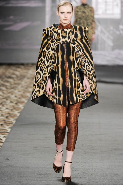 just cavalli29 400x600 Just Cavalli Fall 2012 | Milan Fashion Week