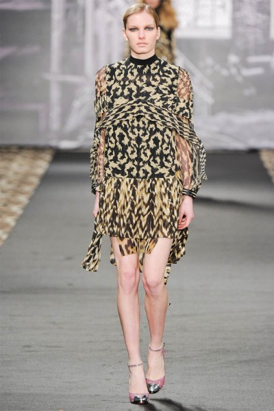 just cavalli30 400x600 Just Cavalli Fall 2012 | Milan Fashion Week