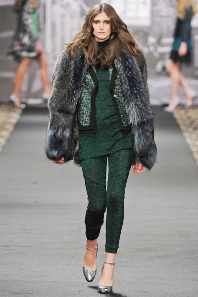 just cavalli9 400x600 Just Cavalli Fall 2012 | Milan Fashion Week
