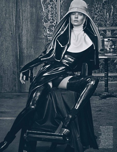 Kate Moss by Steven Klein for W Magazine March 2012